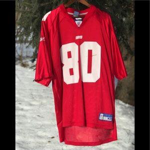 Red Reebok New York Giants Jeremey Shockey Jersey